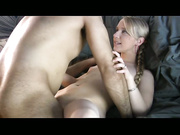 Blonde With Braids Gets Fucked In Various Positions