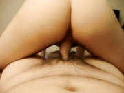 Girl With Amazing Ass And Perky Tits Shows Us How She Rides Cock